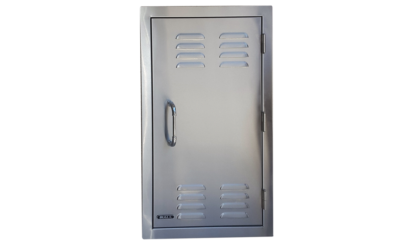Bull Gas Bottle Door Large Stainless Steel