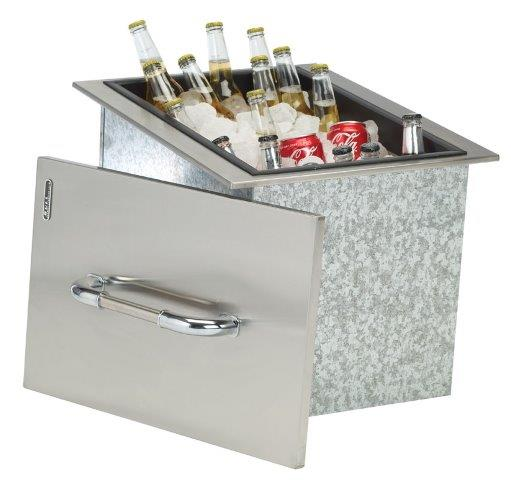 Bull Ice Chest Drop-In Section Stainless Steel