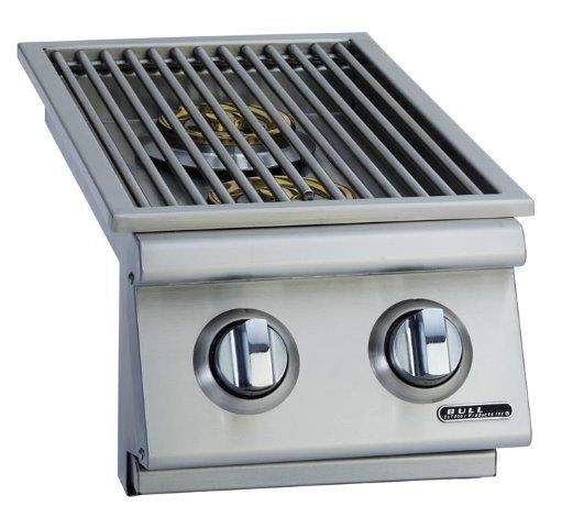 Bull Slide-In Double Side Burner Stainless Steel