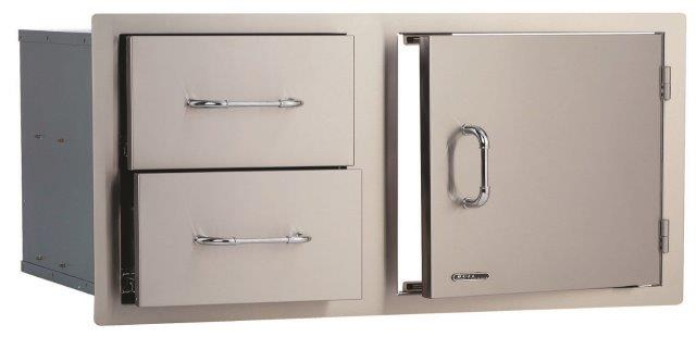 Bull Large Door/Drawer Combo Stainless Steel