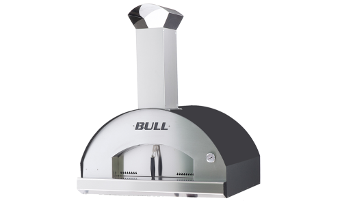 Bull XL Wood Fueled Pizza Oven built in